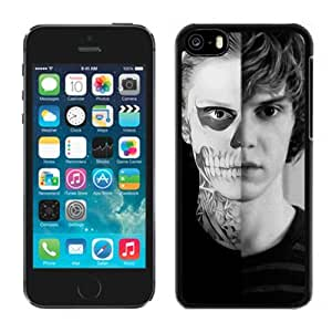Grace Protactive Iphone 5c Case Design with Evan Peters 2 Black Cell Phone Case for Iphone 5c