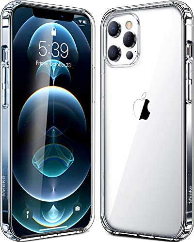 Mkeke Compatible with iPhone 12 Pro Max Case, Compatible with iPhone Pro Max Cover Clear for six.7 inch 2020