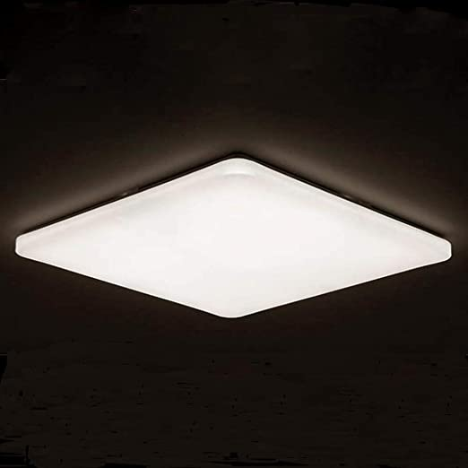 48W Deckenleuchte Modern LED Deckenlampe Wohnzimmer Wandlampe Esszimmer IP44 FB
