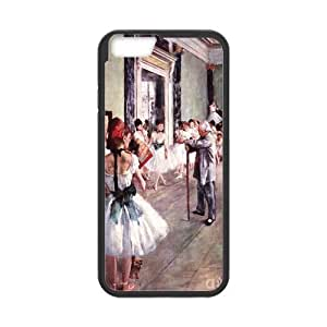 Edgar Degas Dance Cell Phone Protector for iPhone 6(4.7) Plastic and TPU (Laser Technology) wangjiang maoyi