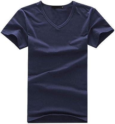 Camisetas Quicksilver NiñOPack de 3 Camisetas elásticas de algodón para Hombre, Cuello Redondo, Manga Corta, Casual, Color sólido, Camisetas, Tops, Camisetas S-5XL: Amazon.es: Ropa y accesorios