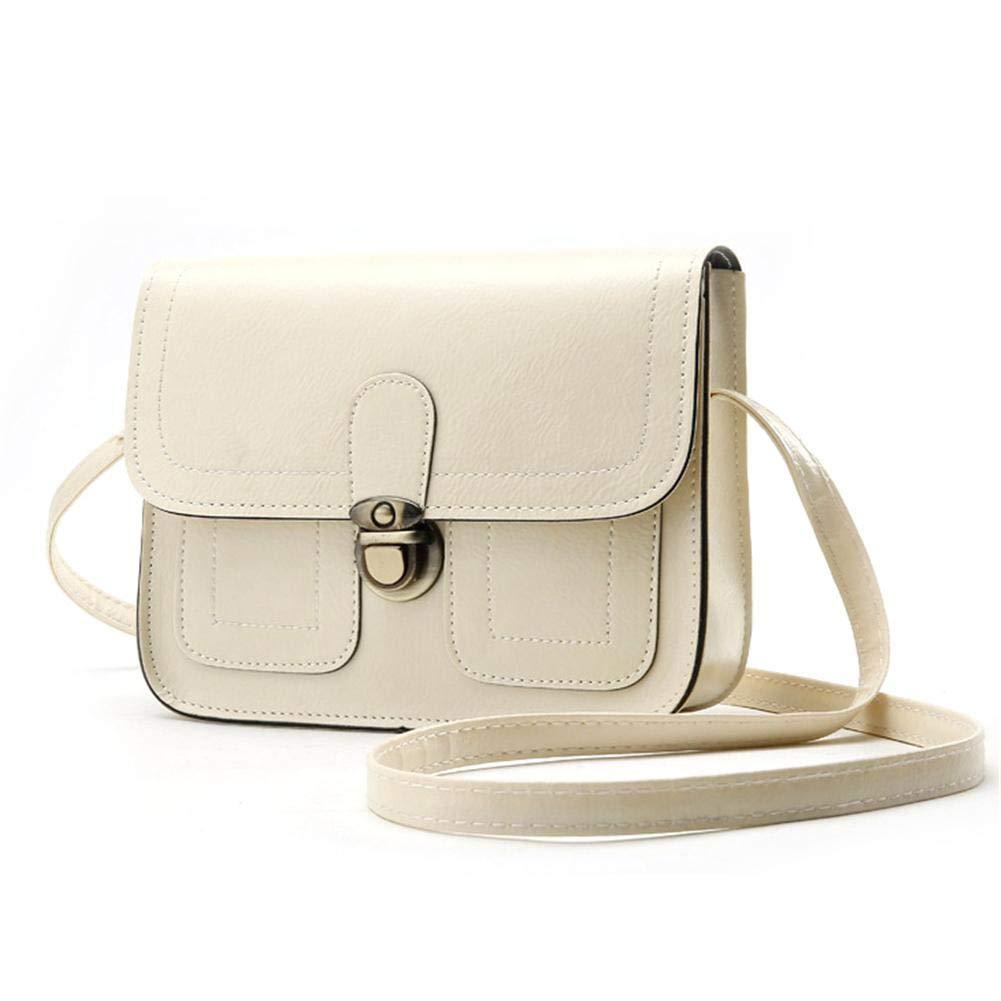 e2f310d8bec5 iShine Fashion Retro Handbag Single Crossbody Shoulder Bag Purses Student  Diagonal Bag Simple British Style with Belt Adjustable Crossbody Bag Tote  Bag ...