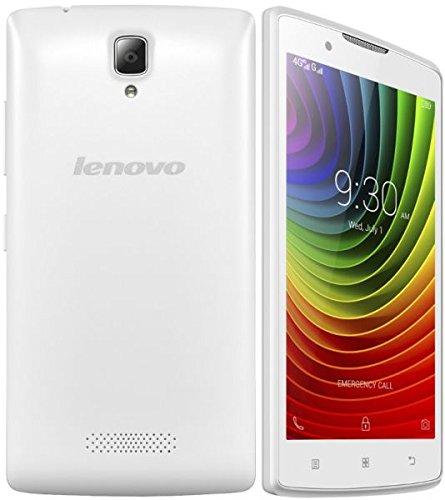 Lenovo A2010 4G LTE Android Quad Core 8GB Dual Sim 5Mp Factory Unlocked International Version (White)
