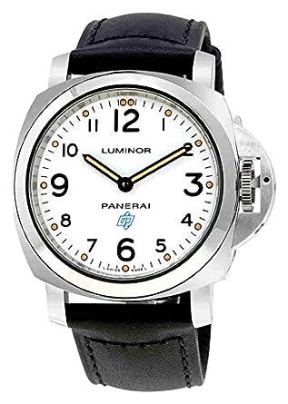 PANERAI LUMINOR RELOJ DE HOMBRE MANUAL 44MM ANALÓGICO CORREA DE CUERO PAM00630: Amazon.es: Relojes