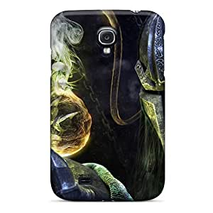 Tpu Shockproof/dirt-proof Black Dead Cover Case For Galaxy(s4)
