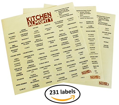Spice Labels - 9