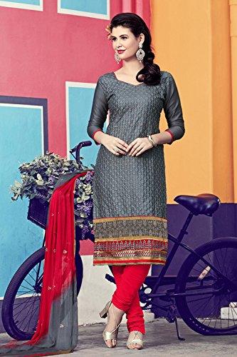 Da Facioun Indian Women Designer Partywear Ethnic Traditonal Yellow Salwar Kameez. Da Facioun Femmes Indiennes Concepteur Partywear Ethnique Traditionelles Salwar Kameez Jaune. Grey 7 Gris 7