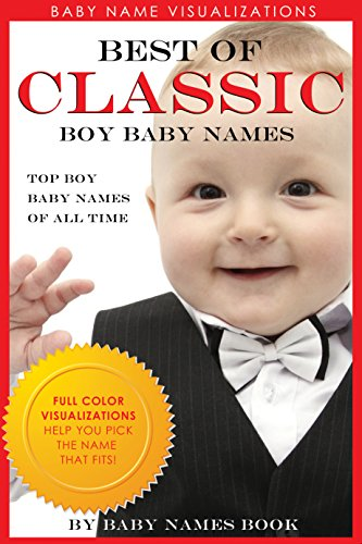 Best of Classic Boy Baby Names: FULL COLOR VISUALIZATIONS help you pick the name that fits (Baby Name Visualizations Book 1) (Best Traditional Baby Names)