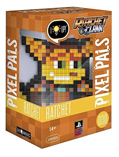PDP Pixel Pals Ratchet & Clank Ratchet Collectible Lighted Figure, 878-035-NA-RATCHET