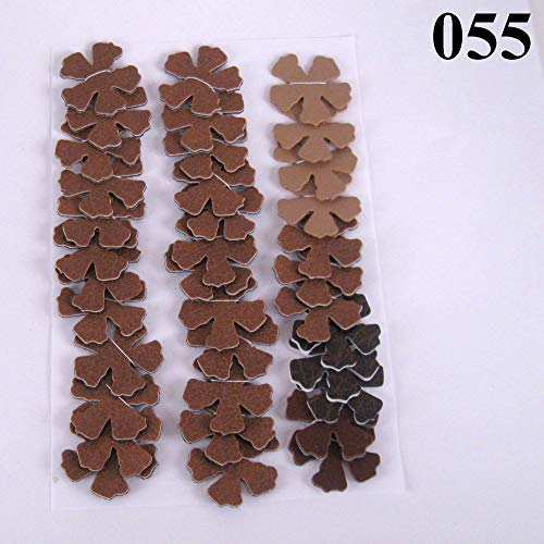 36 Shades of Brown Vinyl Die Cut 1 inch Flowers from Suzanne Medrano