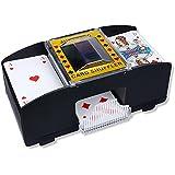 S/O Elektrischer Kartenmischer 2 Decks Kartenmischmaschine Karten Mischer Skat Romme Poker elektronisch Card Shuffler