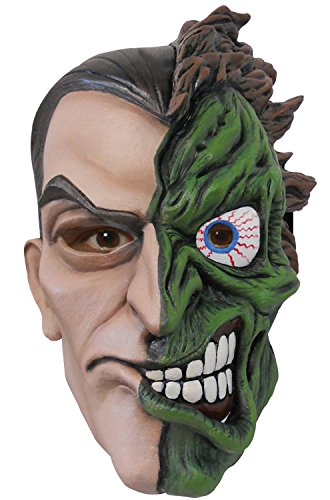 [2 Face Mask Costume Accessory] (Two Faced Halloween Costumes)