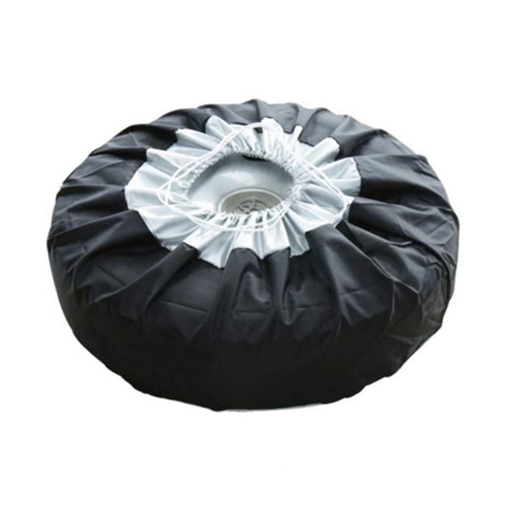 Spare Tire Cover Tough Oxford cloth Tire Wheel Soft Cover Truck Trailer 1//2//4pcs 13-19 inch Spare Tyre Cover Fit Jeep SUV 1pcs RV