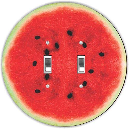 Rikki Knight RND-LSPDBL-18 Watermelon Half Round Design D...