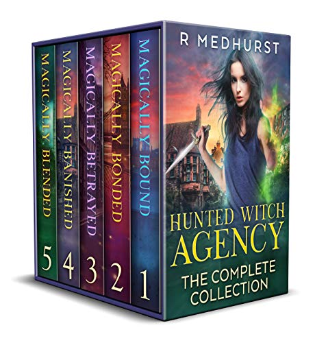 Hunted Witch Agency Complete Collection Cover