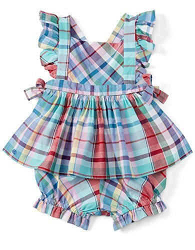 Ralph Lauren Baby Girls Plaid Tunic and Panty Set Size 9 ...