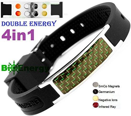 Magnetic Energy Germanium Bracelet Armband