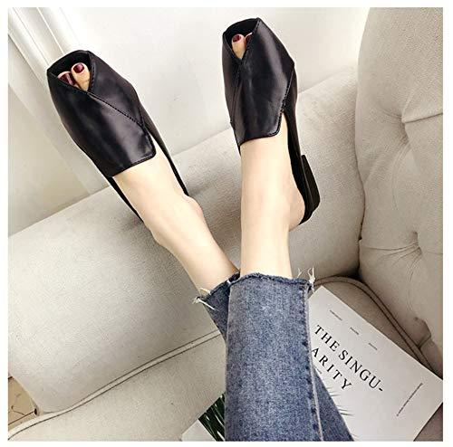 Femmes pour YUCH YUCH Pantoufles Black Pantoufles ZRR7qH