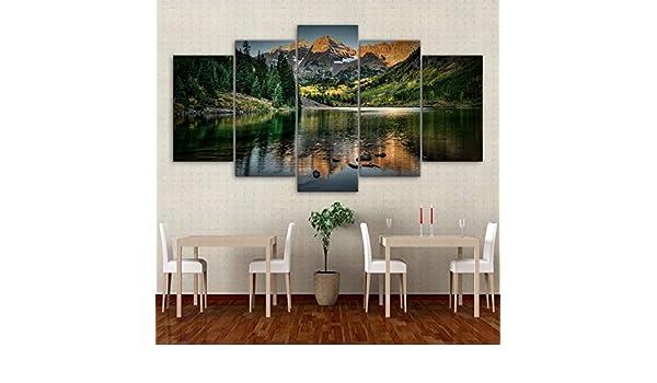 mmwin HD Impresiones Imágenes Decoración Sala de Estar Lienzo ...