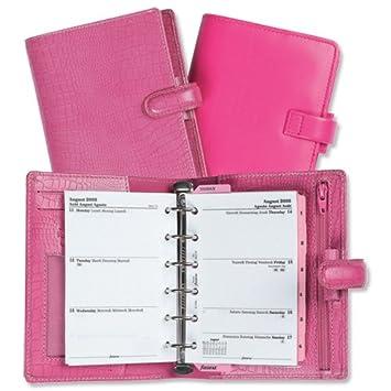 Pink filofax breast cancer