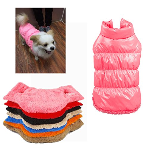 Classic Pet Products Muzzle (Rantow Autumn Winter Pet Dog Cat Clothes Warm Down Coat, 7 Colors Classic Pet Outwear Down Jacket for Teddy, Yorkshire Terrier, Chihuahua, Pomeranian)