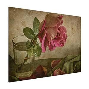 Bilderwelten Pizarra magnética - Tear of A Rose - Formato ...