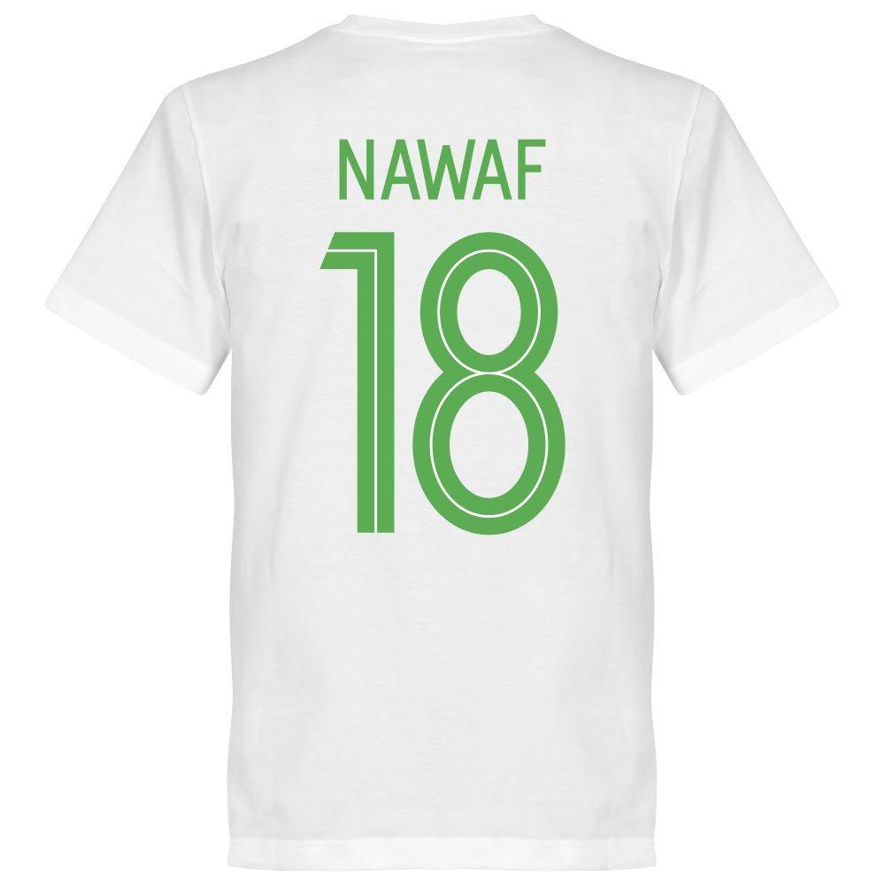 サウジアラビアRetake Nawaf 18チームTee – ホワイト B07CBVZP5P  Small