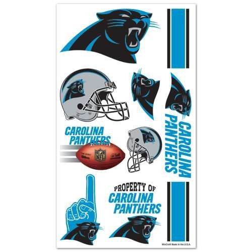 Carolina Panthers Temporary Tattoos]()