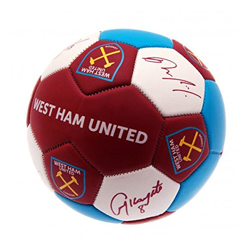 West Ham United F.c. Nuskin Football Size 3 Official (West Ham United Football Club)
