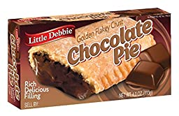 Little Debbie Chocolate Pies 4 Oz (16 Pack)