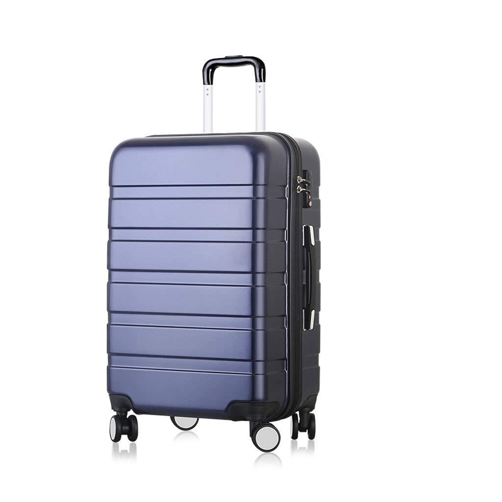 キャビントロリー超軽量ABSハードシェルトラベルキャリーハンドキャリースーツケース(4つの車輪付き)、ハードシェルトロリーサイズ 52cm*30.5cm*78cm  B07P8QDHFM