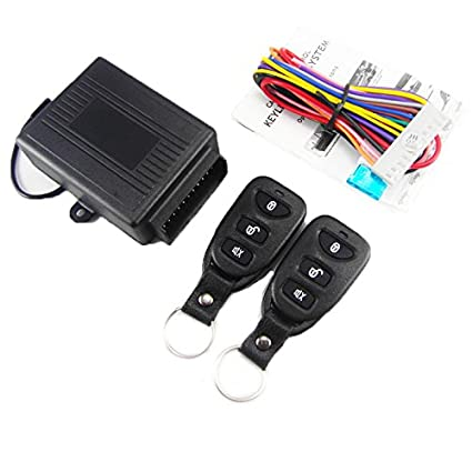 51S9ywKYTYL._SX425_ amazon com camrom�universal car remote central kit keyless entry  at alyssarenee.co