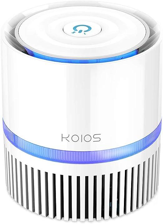 KOIOS purificador de aire, limpiador de aire para interiores con ...