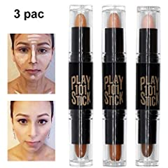 Double-end Highlight Contour Sticks Set Our ultimate full coverage concealer makeup formulated for all skin types including the most sensitive skin. Conceal it all, big to small. BUOCEANS Concealer offers customizable coverage from the tinies...