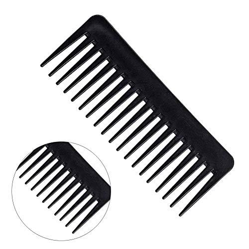 SALON HAIRDRESSING SHOWER WIDE TOOTH DETANGLER MASSAGE HAIR BRUSH COMB -