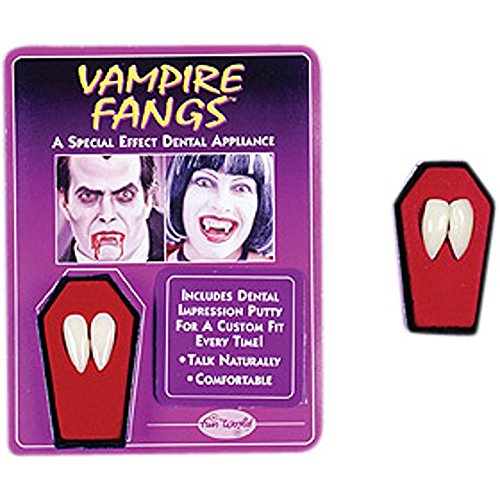 Fangs Dentures Vampire Costume Accessory