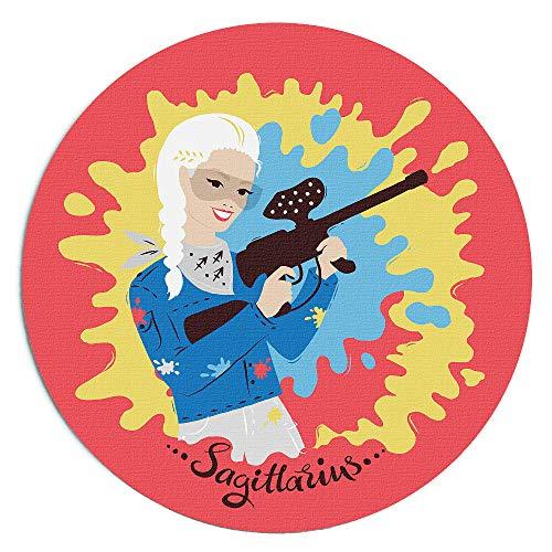 - Custom Printed 'Le Femme' Horoscope Star Sign Mousepad (Sagittarius) by We Love Horoscope
