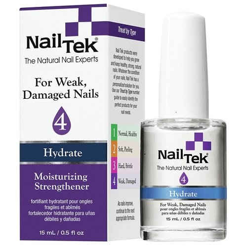 Nailtek Hydration Therapy for Difficult and Resistant Nails, 0.5 Fluid Ounce (Enamel Resistant Nail)