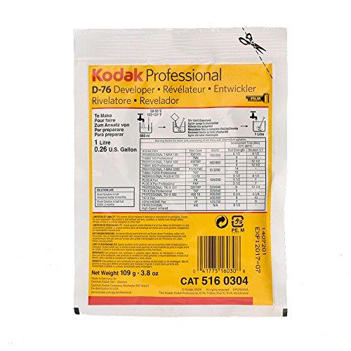 Kodak D-76 Developer Powder, B and W Film 1 Gallon (Photo Negative Developing compare prices)