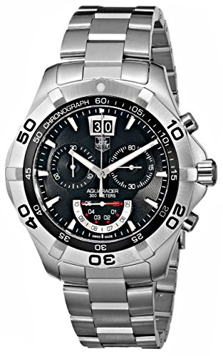 - TAG Heuer Men's CAF101A.BA0821 Aquaracer Chronograph Grand-Date Quartz Watch