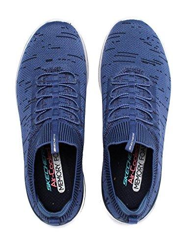 Skechers Burst 2.0 - Chaussures de sport pour femme - Bleu marine