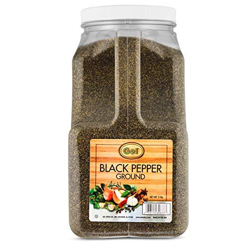 (Gel Spice Ground Black Pepper 5 lb)