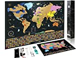 Scratch-Off-Map-of-The-World--Premium-Scratch-Off-USA-Map-Accessories-and-Gift-Packaging--Personalized-Travel-