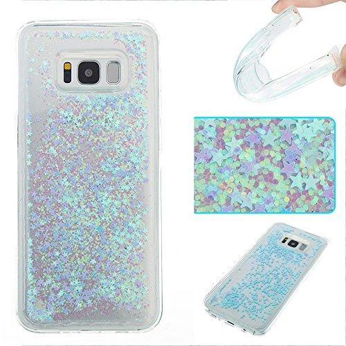 JIALUN-Personality teléfono shell Para Samsung Galaxy S8 Plus, Elegante Caja Protectora Líquida Flotante y Ligera Soft TPU Absorción de Amortiguación Contraportada Seguridad y Moda ( Color : D ) F
