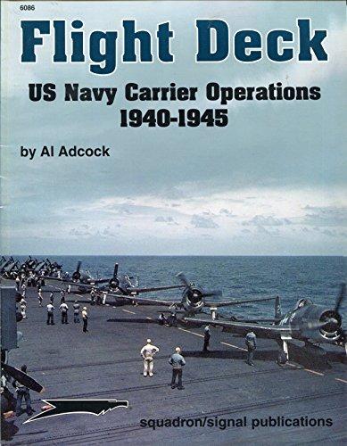 Flight Deck: US Navy Carrier Operations, 1940-1945 - Aircraft Specials series (6086) (Aircraft Deck Flight)