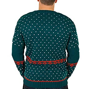 Ugly Christmas Sweater - Humping Reindeer Games Holiday Sweater By Festified