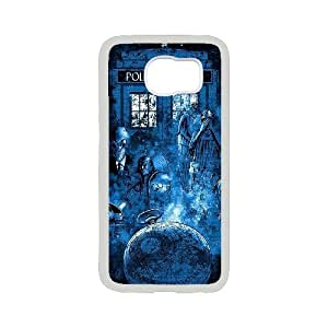 Popular Doctor Who Watercolor Tardis Phone Case Protective Case 8 For Samsung Galaxy S6 At ERZHOU Tech Store