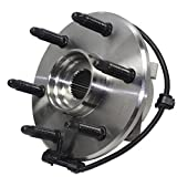 #9: Detroit Axle- Front Driver or Passenger Side Wheel Hub and Bearing Assembly for 4x4 Models Only - [6-Lug Wheel - 3-Bolt Flange]