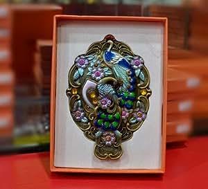 Espejos de pie decorativos antiguo ba o vintage de mano vanidad azul turquesa gru ir - Espejos decorativos amazon ...