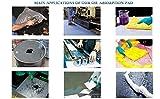 """Aain AA005 Hazmat Mat Pad,HazMat Absorbent Pads for Chemical,20"""" x 15"""", Pink 100pcs"""